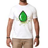 Camiseta Cannabis Medicinal Gotas, Cbd, Thc