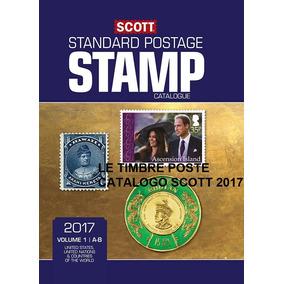 Catálogos De Selos Scott 2017 Completo Em 6 Volumes - Leia