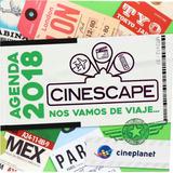 Agenda Cinescape 2018 Remate!!!