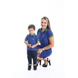Tal Mãe Tal Filho - Kit 02 Peças Vestido E Camisa Polo