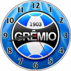 dc5ede91e12 Relogio De Parede Do Gremio - Relógios no Mercado Livre Brasil