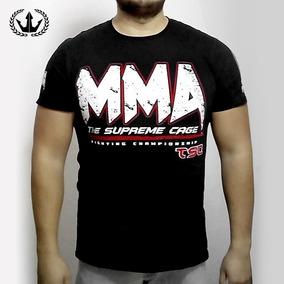 Playera Supreme Cage Mma By Tkc - Camiseta Premium Mma Ufc 406e85d5be047