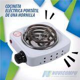 Cocineta Electrica Portatil De Una Hornilla Potente Y Practi