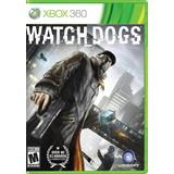 Watch Dogs Xbox 360 Usado En Buen Estado