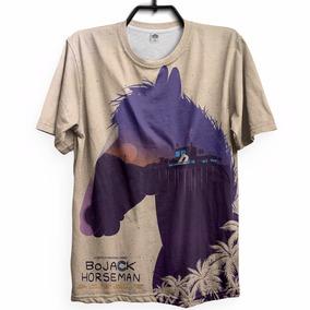 Camiseta Bojack Serie Netflix Desenho Horse Adulto Cavalo