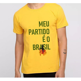 Camisa Bolsonaro Amarela Tamanho Xg - Camisetas no Mercado Livre Brasil c8e771d2981e4