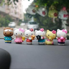Figuras De Hello Kitty De Coleccion Pvc Con Caja