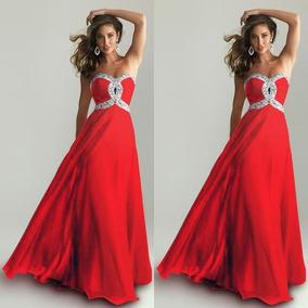 953e7d47cc Vestido Strapless Pechera De Encaje - Vestidos De Fiesta para Mujer ...