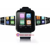 Negro - Bluetooth Smart Muñeca Reloj Teléfono - 571511663841