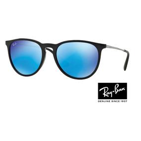 Ray Ban Erika Rb 4171 Preto Com Prata Espelhado Original · 5 cores. R  220 9546bd7d540e0