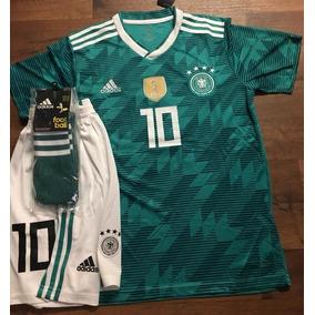 Uniformes De Futbol Economicos Completos Alemania Verde Psg 4695f8c647e34