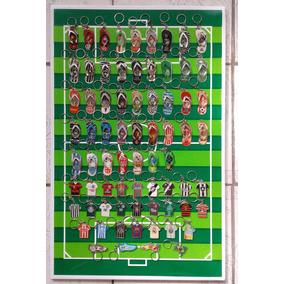Chaveiros Times Futebol-coleção C/100 Lindos Chaveiros