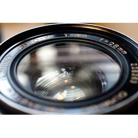 Olympus 28mm 3,5 Con Montura Canon Ef