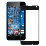 Para Microsoft Lumia 550 Pantalla Frontal Exterior Lente