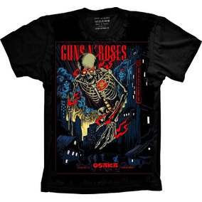 Camisa, Camiseta Bandas Guns N