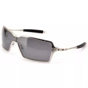 Oculos De Sol Probation Metal Prata Fume Polarizado Promoção. R  169 eeb391c149