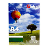 Papel Global Autoadhesivo Glossy A4 X100 135grs