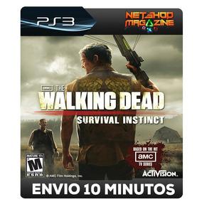 The Walking Dead: Survival Instinct - Psn Ps3 - Promoção