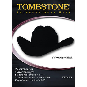 d232a00a5c1 Texana Tombstone Mod.maverick Negra(caballero) -el Güero-