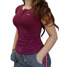 Roupas Femininas Blusas Botão Enfeite Cores Lindas Promoção