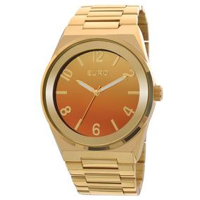Relógio Euro Feminino Premium Eu2035yaf/4l- Dourado