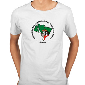 Camisa Mst Movimento Dos Trabalhadores Rurais Sem Terra