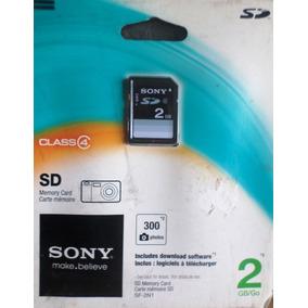Memoria Sony Sd 2gb Ideal Porta Retratos Y Ds