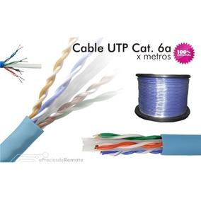 Cable Belden 4 Pares Utp Nivel 6 Datatwist Azul Por Tramos