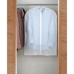Funda Cubre Traje Cierre Frontal Color Blanco Good And Good