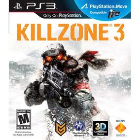 Killzone 3 Ps3 - Mídia Física | Com Nf E Garantia Playgorila