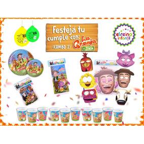 Cotillon Para 10 Niños - La Granja De Zenón (combo 2)