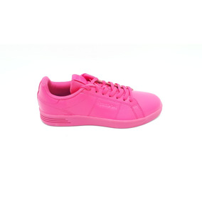 Tenis Reebok Royal Rally Classic Rosa Dama Original