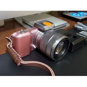 Camera Mirrorless Sony Alpha Nex-3 Aps-c Rosé + Extras
