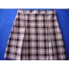 Faldas Escolares De Tela Escocesa