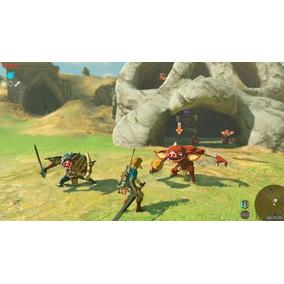 Jogo The Legend Of Zelda Breath Of The Wild Switch