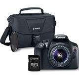 Canon Eos Rebel T6 +sd 16gb + Bolso   Garantía