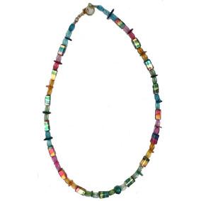 Maxi Collar Vistoso Madreperla Cristal Murano