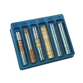 Porta Moedas Azul Caixa Com 8 Unidades Menno