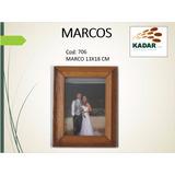 Marco De Madera Para Fotos. Med: 13x18 Cm Cod:706