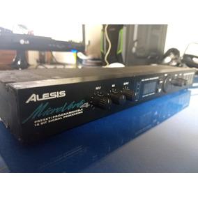 Processador Se Efeitos Alesis Microverb 4 Digital