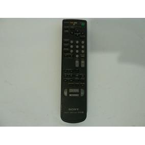 Controle Remoto Sony Vcr Tv Videocassete Vhs Rmt-v154f