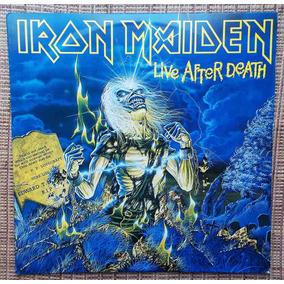 Lp Iron Maiden - Live After Death / Disco Duplo