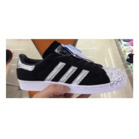 watch e6001 10e76 adidas Superstar Negras Puntera Brillo 37 - 39 Originales