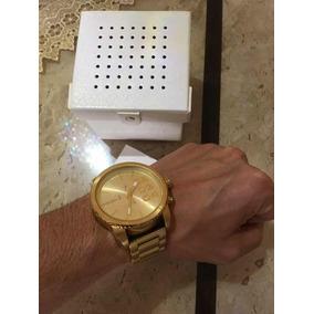 67bff0d114c Relogio Diesel Dz4268 Dourado Masculino - Relógios De Pulso no ...