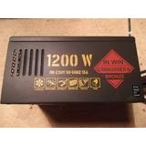 Fuente De Podet 1200 Watt In Win Commander