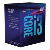 Micro Procesador Intel I3 8100 3.6ghz Coffelake 1151 8va Gen