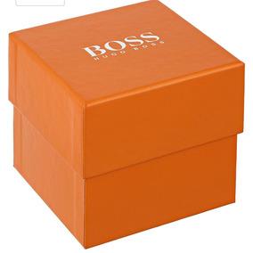 Hugo Boss 1513005 Reloj Análogo, Color Naranja/sellado