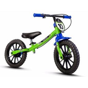 Bicicleta Balance Bike Nathor Aro 12 Masculina Sem Pedal