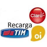 Recarga Celular Crédito Online Oi Claro Tim Nextel R$30