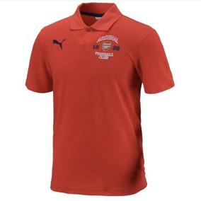 Playera Polo Casual Original Puma Arsenal Gunners 2014-2015 13724f25f6bbf